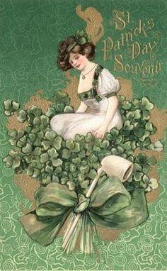 Alphonse's Room: Vintage St. Patrick's Day Cards