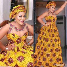 African maxi dress / African print / Ankara dress / African clothing for women / African prom dress / African wedding dress / African dress African American Fashion, African Fashion Ankara, Latest African Fashion Dresses, African Print Fashion, Africa Fashion, African Prints, Dress Fashion, Ghanaian Fashion, African Maxi Dresses
