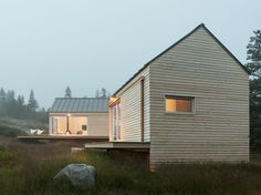 Little House on the Ferry by GO Logic / simple, minimal, beautiful