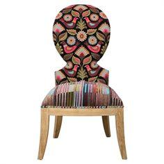 Cruzita, Armless Chair