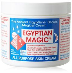 Egyptian Magic All Purpose Skin Cream Facial Treatment, 4 Ounce Egyptian Magic #nickelallergy #nickelfree