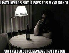 I hate my job meme - http://jokideo.com/i-hate-my-job-meme/