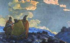 krishna nicholas roerich - Google Search Nicholas Roerich, Digital Museum, Classic Paintings, Art Database, Heart Art, Art Forms, Folk, Landscape, Artist