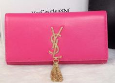 YSL Bag with that gold tassel. yummy. #YSL
