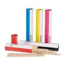 Pantone palette pencil cases