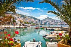 Puerto de Sarada, Albania