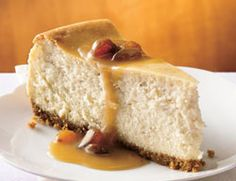 Hot Buttered Rum Cheesecake | Catersource I want cheesecake now, but ...
