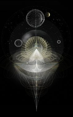 Light Beyond Sound by Tatiana Plakhova. / Sacred Geometry <3