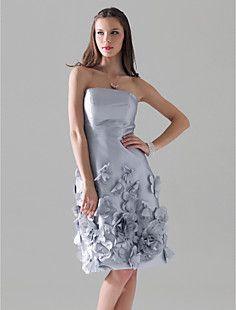 HIBA - Vestido de Madrinha em Tafetá – EUR € 107.24