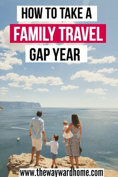 How to take a year off for world travel with kids. This family has advice on what to do with your house and stuff, and how to plan a gap year of family travel with kids. #travel #familytravel #gapyear #worldtravel via @thewaywardhome