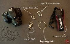 DIY: Gliding camera straps are sold online, starting at about $60. Test out the concept by making your own for less than $10. http://cnet.co/MIXslx
