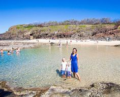 Family Highlights of 2015  Going back to #FraserIsland was a definite family travel highlight from this year. In case you don't know Fraser is the world's largest sand island and a 4x4 driving paradise.  We loved exploring more of 75 Mile Beach and for the first time we came to this brilliant spot Champagne Pools   Have you been to Fraser? Is it on your list for next year?  #FamilyTravelTribe #Queensland @Australia #Thisisqueensland @Queensland #visitfrasercoast @visitfrasercoast…