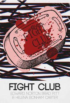 Póster alternativo fight club