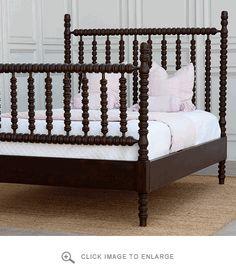 Custom Made Gwendoline Spindle Bed :: Bradshaw Kirchofer Handmade Furniture