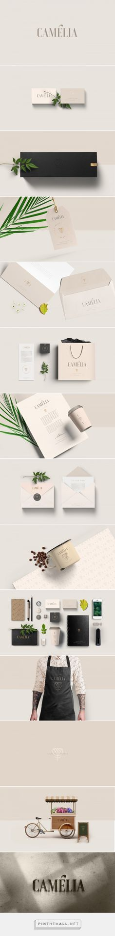 Camélia Florist Branding by Estudio Alice | Fivestar Branding Agency – Design and Branding Agency & Curated Inspiration Gallery