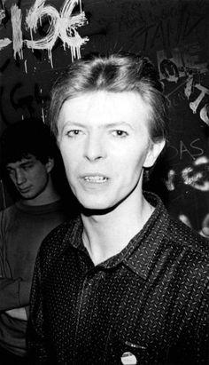 Bowie at Hurrah, New York, September 1980