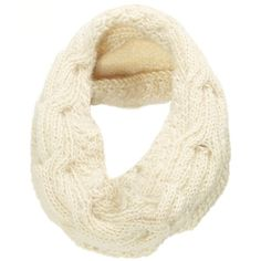 The North Circular Natural Wool Catch Snood ($270) ❤ liked on Polyvore