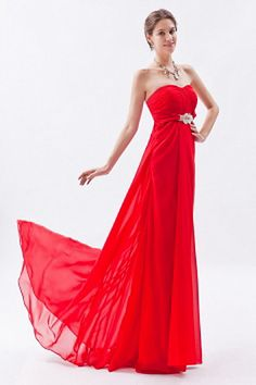 Weekly Special Product: Red Chiffon A-Line Graduierung Kleider ma1878 - Order Link: http://www.modeabendkleider.de/red-chiffon-a-line-graduierung-kleider-ma1878.html - Farbe: Red; Silhouette: A-Line; Ausschnitt: Sweetheart; Verzierungen: Kristall, Gerafft