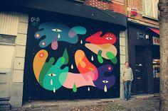 Oli-B's Beautiful Shapeshifting #Abstract #StreetArt