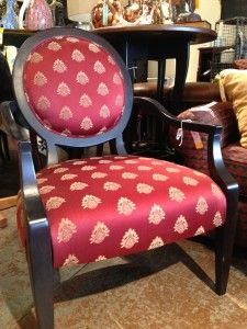 Red Chairs, Set of 2