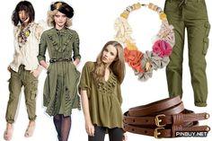 feminine-military-style-shop - Army Girl