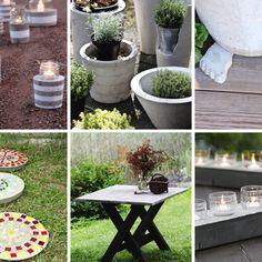 Trendikäs betoniaskartelu vie mukanaan – 10 helppoa ohjetta kotiin ja puutarhaan