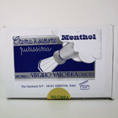 Valobra Soft Shaving Soap Menthol