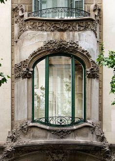 Casa Rosa Vilar. Architect: Enric Sagnier i Villavecchia. Barcelona - Provença.