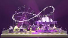 E4 Stings 2015 - Fun Fair Fun Fair, Fair Grounds, Animation, Animation Movies, Motion Design