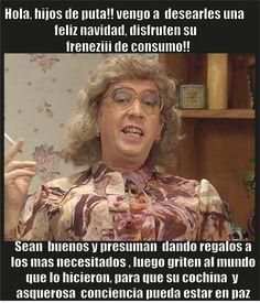 Feliz Navidad!!! by Violencia Rivas Humor, Draco, Funny, Movie Posters, Mood, Stickers, Twitter, Women, Jokes