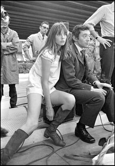 Jane Birkin (and Serge Gainsbourg)