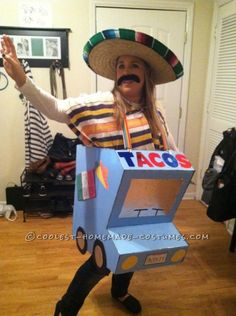 "This is what we are dealing with here. Except it is a Mexitalian taco truck. Taco shell is made from spaghetti, cook is a Mexican woman from the barrio and a bitter ex-wife who lost her ""job"" is offering salsa. LOLLL"