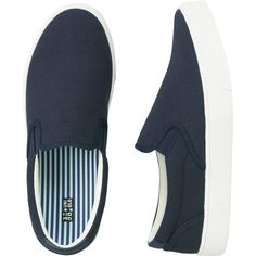 UNIQLO Men Slip-On Sneakers ($15) ❤ liked on Polyvore featuring shoes, sneakers, pull on sneakers, uniqlo shoes, traction shoes, uniqlo and slip on trainers