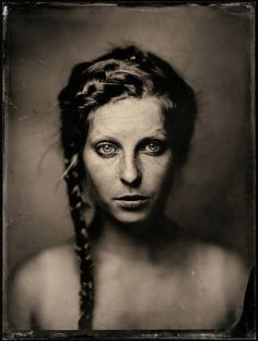 Photography, Large format in People, Miscellaneous, Female, fkd+tessar 360, wet-plate - Image #517670
