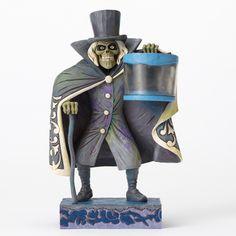 Disney Traditions Jim Shore Figure Haunted Mansion Hatbox Ghost Figurine New Box Dark Disney, Disney Magic, Hatbox Ghost, Disney Parks Merchandise, Disney Rides, Disney Pixar, Disney Traditions, Disney Sketches, Hat Boxes