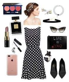 """""""⚫️⚪️⚫️⚪️"""" by hayatbabay ❤ liked on Polyvore featuring Yves Saint Laurent, Gucci, Belkin, Jennifer Behr, Lokai, Bobbi Brown Cosmetics, Avon and Vapour"""