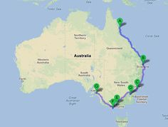 backpacking east coast australia