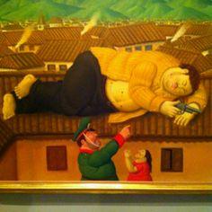 Fernando Botero - Mort d'Escobar.