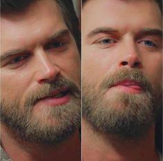 Kivanc Tatlitug in the series Cesur ve Guzel as Cesur. #kivanctatlitug #beard #oceanblue #bestseries #bestactor /#handsome #tonue