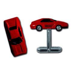 Collectable British Cufflinks ~ Ferrari