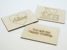 Valentines #Timbergrams #postcards #wooden #love