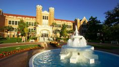 Westcott Fountain and Plaza on the campus of Florida State University (FSU) in Tallahassee