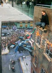 Street Art | Amazing Optical Illusions Online | Find A Brain Teasers Website - Optical Spy
