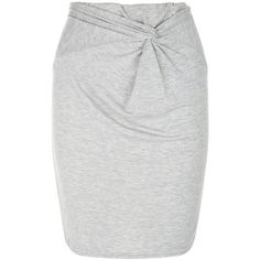 New Look Grey Knot Front Tube Skirt ($7.87) ❤ liked on Polyvore featuring skirts, bottoms, grey, gray skirt, grey skirt, long tube skirt, knot front skirt and grey maxi skirt