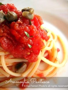 Ogni riccio un pasticcio - Blog di cucina: Ammoglio pantesco