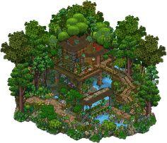 Jungle Treehouse by Cutiezor