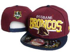 eaed461f4f9 New Era x NRL Brisbane Broncos 9fifty Red Navy Snapback Hat