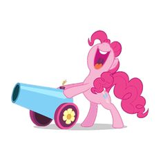 #1431023 - animated, gif, party cannon, pinkie pie, pony, safe, simple background, solo, transparent background - Derpibooru Pinkie Pie, Some Image, Simple Backgrounds, Artist Names, Cannon, Smurfs, Pony, Minnie Mouse, Animation