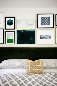art wall + bed styli