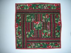 Table topper for Christmas by QuiltingMyWay on Etsy, $18.00